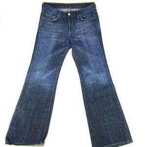 7 For All Mankind Bootcut Dark Wash Mid Rise Women